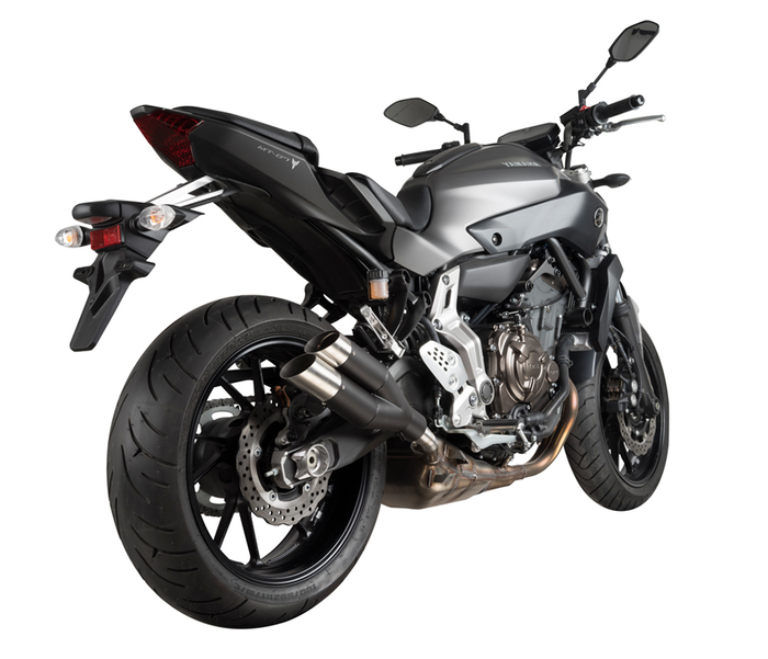 SPEEDPRO COBRA Hypershots Ultrashort Add-on Road Legal/EEC/ABE homologated Yamaha MT-07 / Tracer / Moto Cage / FZ-07