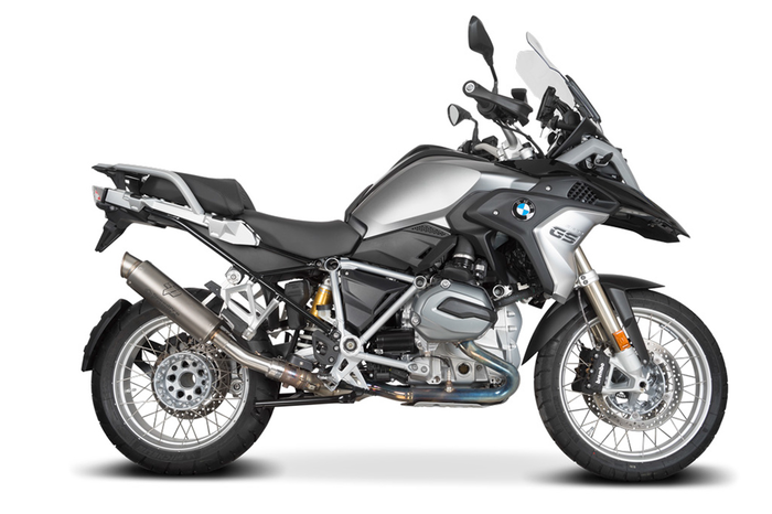 SPEEDPRO COBRA SP2 Slip-on road legal/ECE BMW R 1200 GS LC + Adventure + Rallye 2017 -