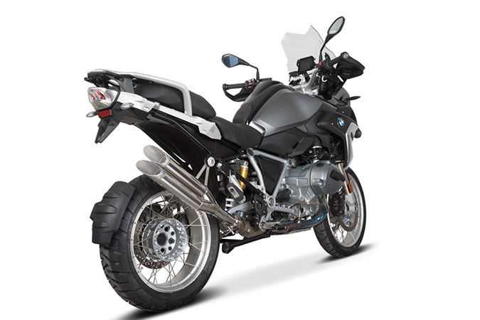 SPEEDPRO COBRA Ultraforce Slip-on road legal/ECE BMW R 1200 GS LC + Adventure + Rallye 2017 -