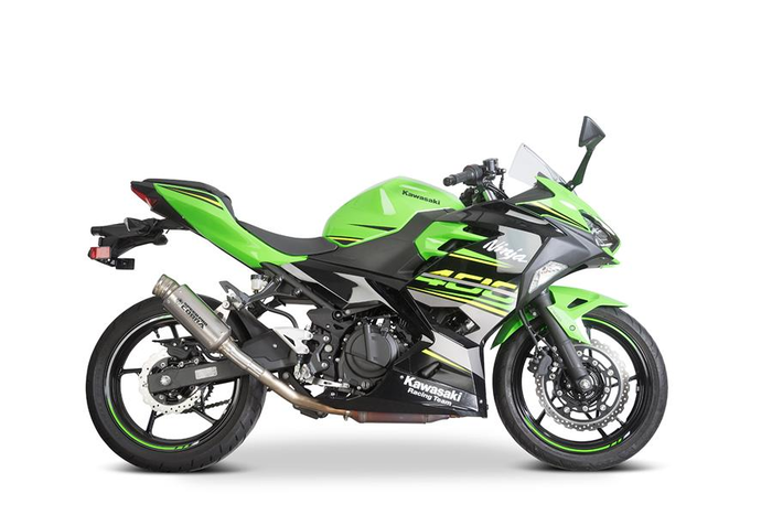 SPEEDPRO COBRA X7 Slip-on road legal / homologated Kawasaki Ninja 400 / Ninja 250 / Z400