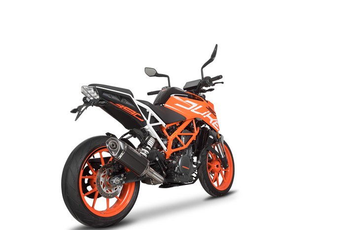 SPEEDPRO COBRA CR2 HEXAGON Slip-on road legal/EEC/ABE homologated KTM 390 - 250 - 125 Duke / RC