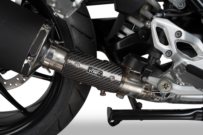 SPEEDPRO COBRA SP1 Slip-on road legal/homologated BMW R 1250 R