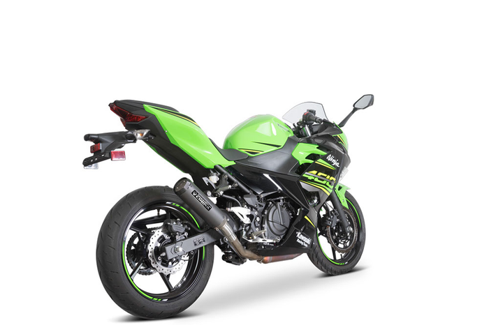 SPEEDPRO COBRA SPX Slip-on Road Legal/EEC/ABE homologated Kawasaki Ninja 400 / Ninja 250 / Z400
