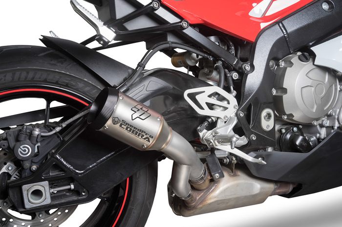 SPEEDPRO COBRA SPX Slip-on RACE Series Triumph Speed Triple