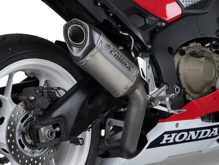 SPEEDPRO COBRA CR2 HEXAGON Slip-on RACE Series Honda CBR 1000 RR