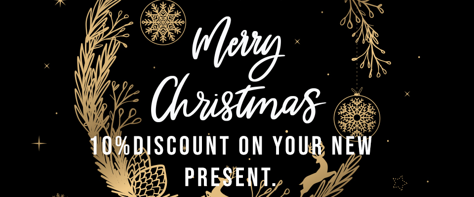 10% DISCOUNT UNTIL 15th OF DECEMBER